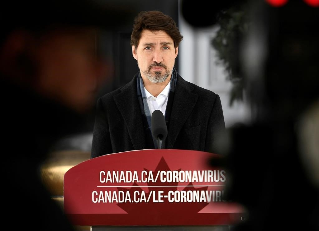 Canada not at the point of declaring a federal emergency over COVID-19: Trudeau