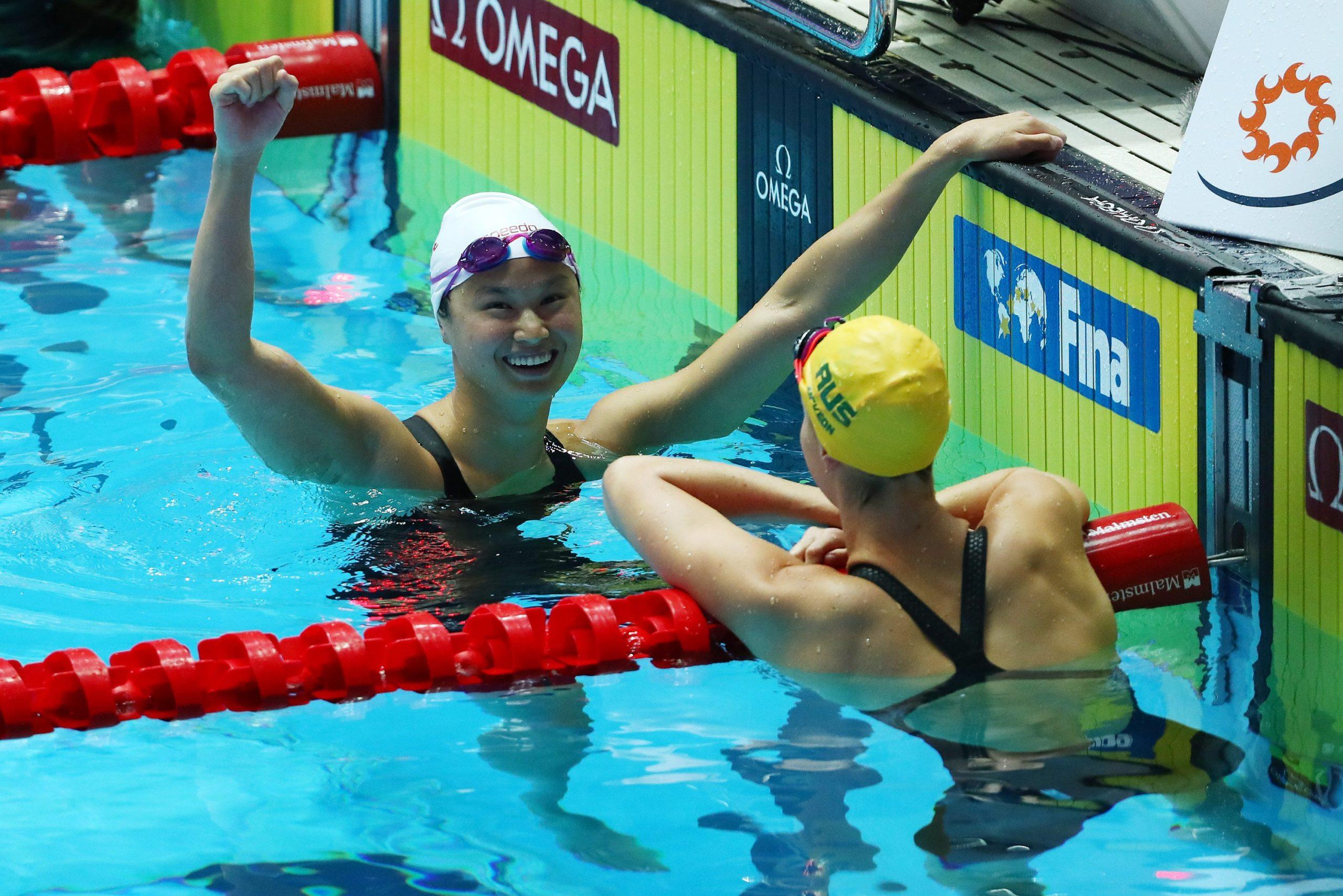 Coronavirus: London world champion swimmer reacts to Canada's withdrawal from Tokyo Olympics