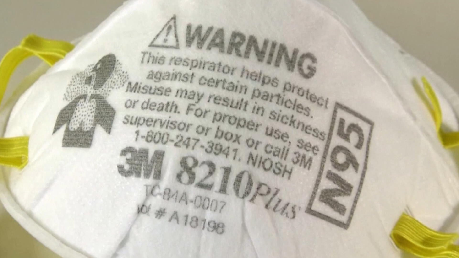 Coronavirus: Ontario stockpiled 55 million N95 masks after SARS, officials checking usability