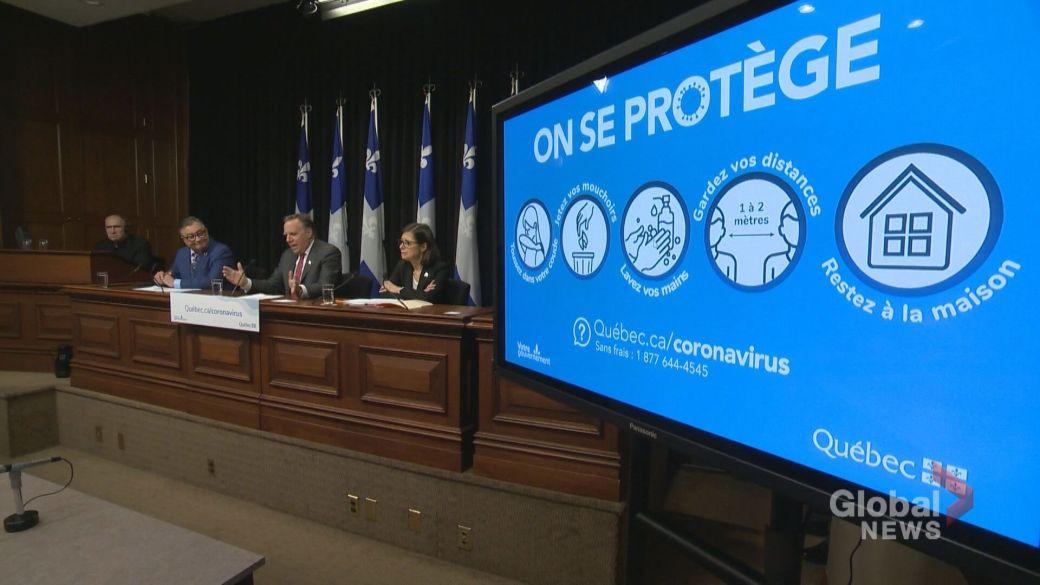 Coronavirus: Quebec deaths climb to 5, cases rise to 181