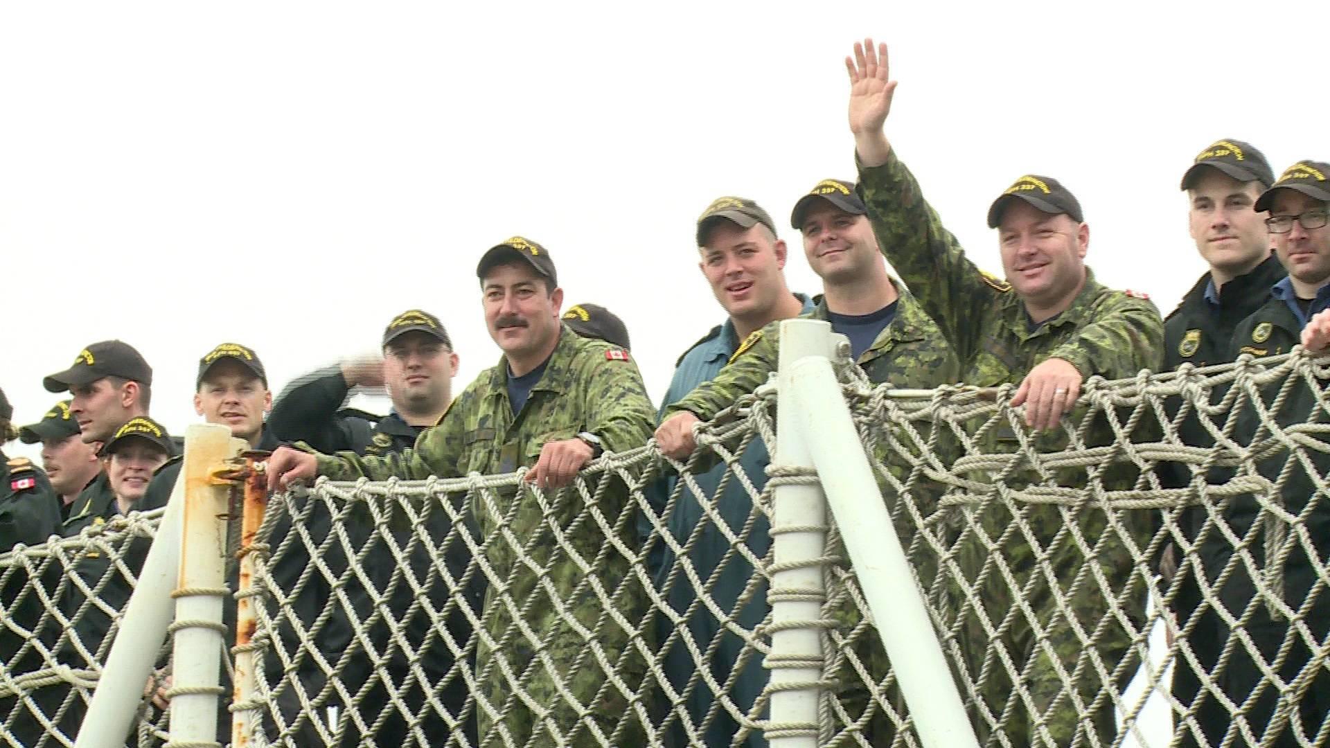 HMCS Fredericton continues Mediterranean mission amid COVID-19