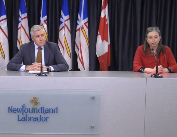 Premier, health minister will update Newfoundlanders on COVID-19