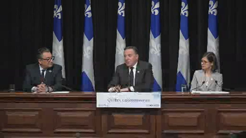 Quebec premier takes lead on coronavirus crisis as former foes rally behind him