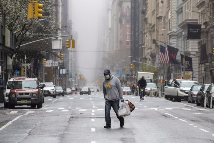 Coronavirus spread could be plateauing in New York, New Jersey: governors