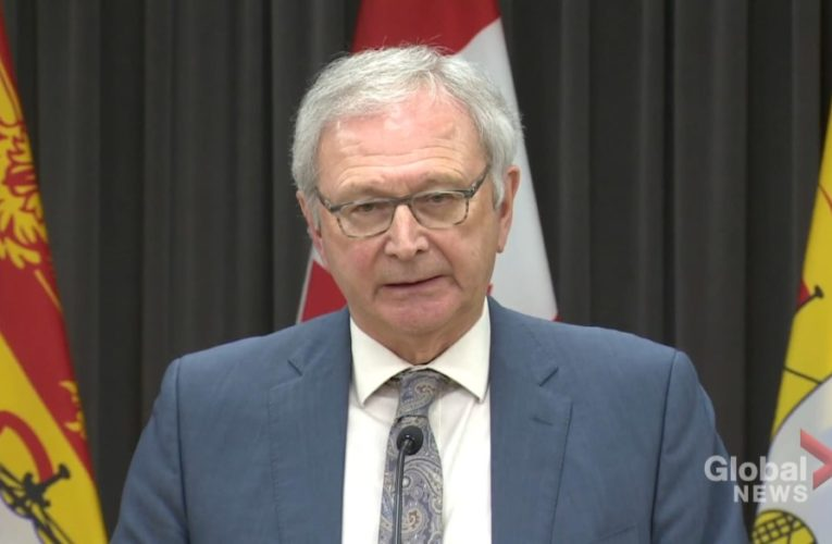 Blaine Higgs suggests N.B. could be first province to reopen as no coronavirus cases reported Thursday
