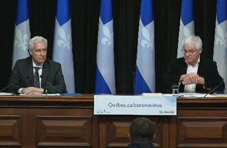Coronavirus: Premier François Legault offers glimmer of hope for Quebec's economy