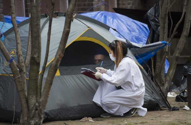 Crowded shelter or $880 fine? Homeless face 'impossible' coronavirus choice