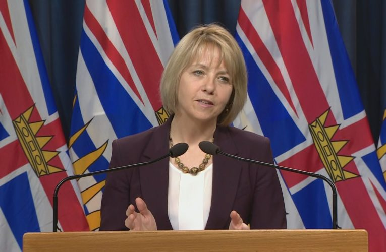 B.C. health officials to provide Monday COVID-19 update