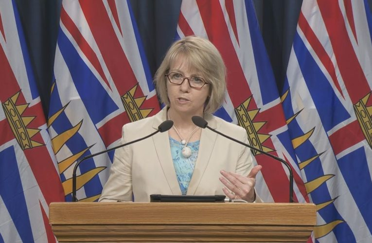 B.C. health officials to provide Monday update on COVID-19