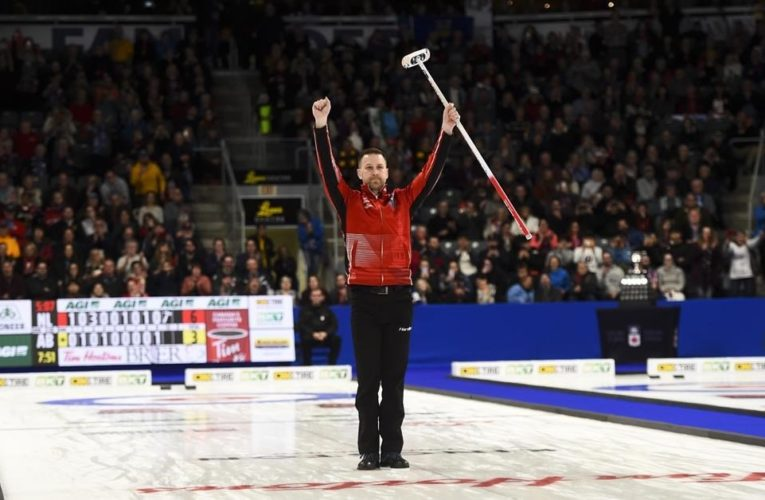 Brad Gushue shifts focus with curling schedule and fitness franchises on hold