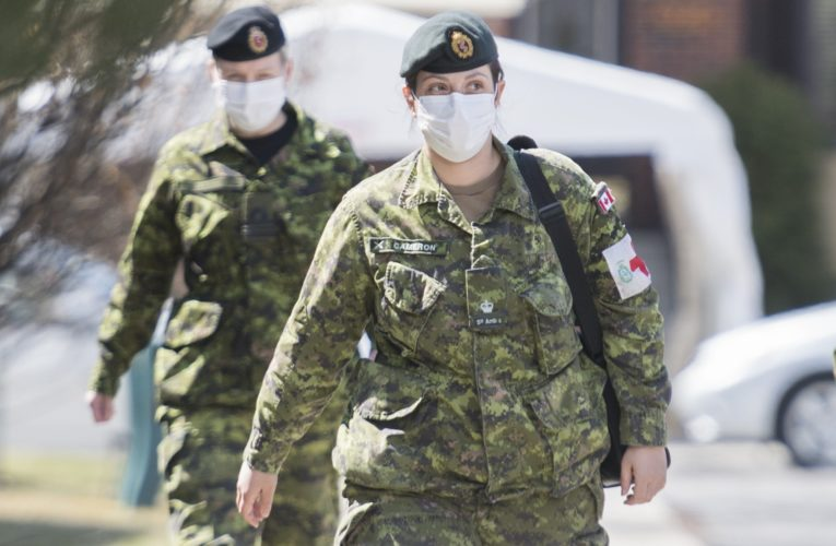 Coronavirus: Over 1,000 CAF members sent to Quebec long-term care homes, more to come by mid-May