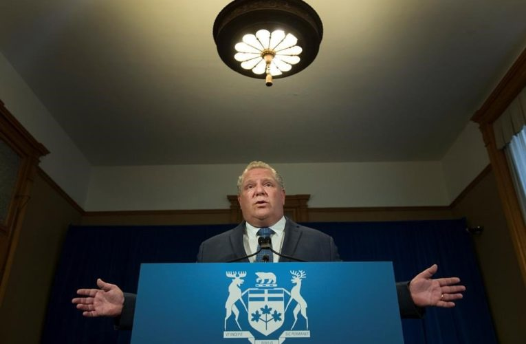 Coronavirus: Premier Doug Ford says Ontario to take over 5 more long-term care homes in GTA