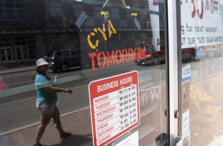 Coronavirus: Some businesses begin to slowly reopen after long weekend