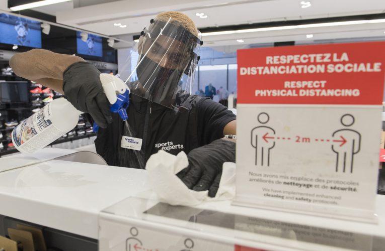 Montreal-area retail stores reopen as coronavirus lockdown eases