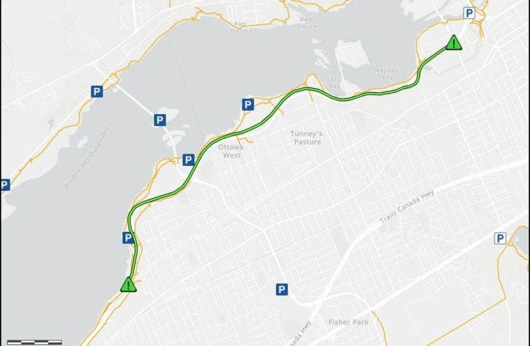 NCC closing parkways along Ottawa River to vehicles over upcoming weekends