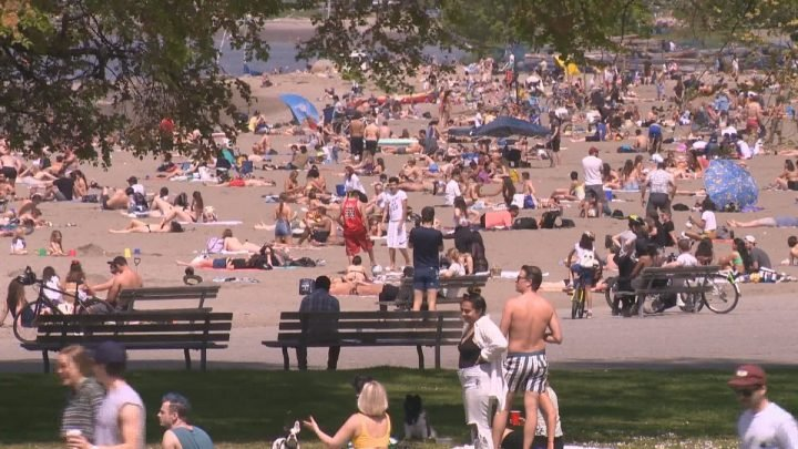 Nearly 1,900 warnings issued over lack of social distancing at Vancouver parks, beaches