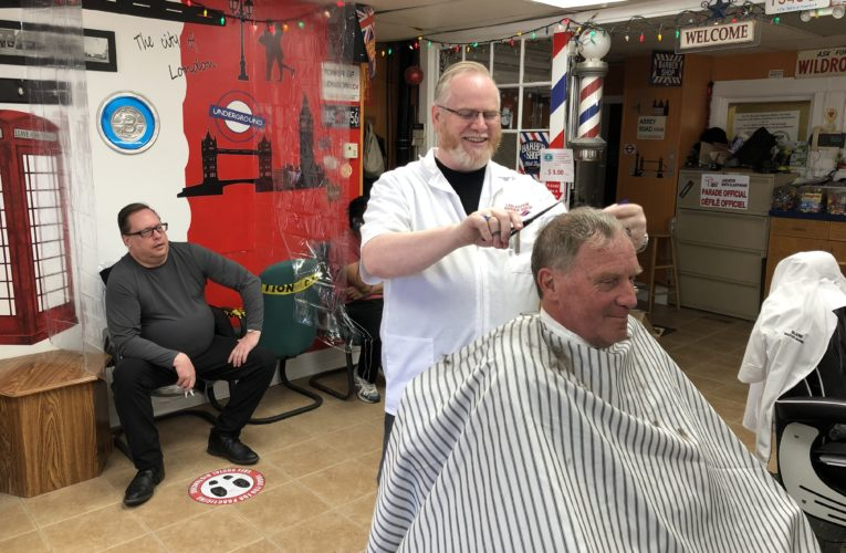 New Brunswick barbershops busy as province enters new phase of COVID-19 recovery