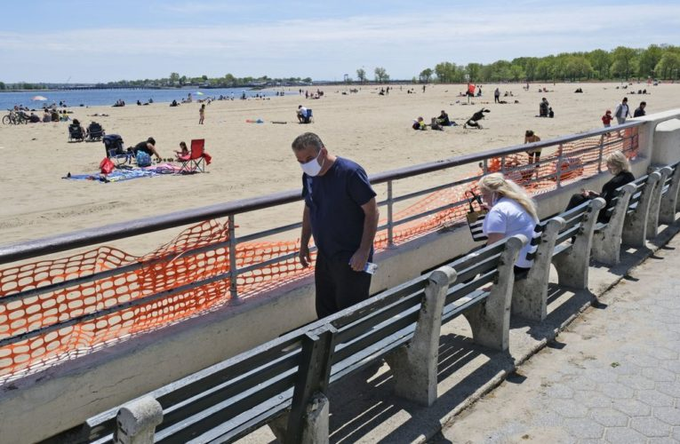 New York eases some COVID-19 restrictions for Memorial Day weekend