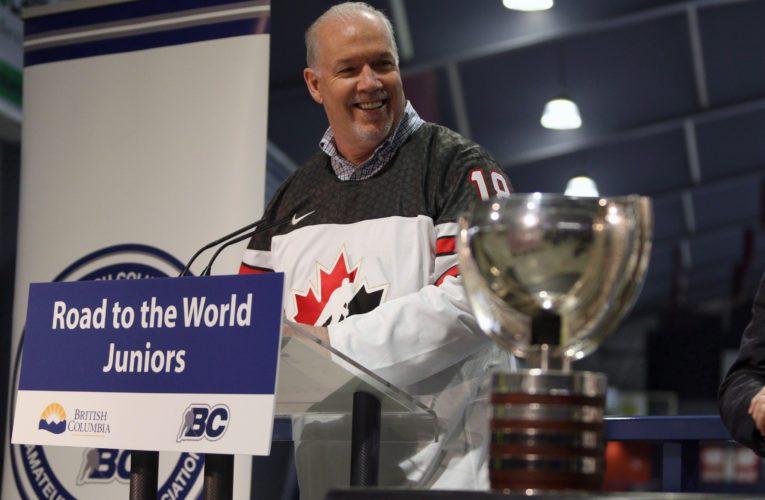 Premier John Horgan tells NHL B.C. is interested in hosting games