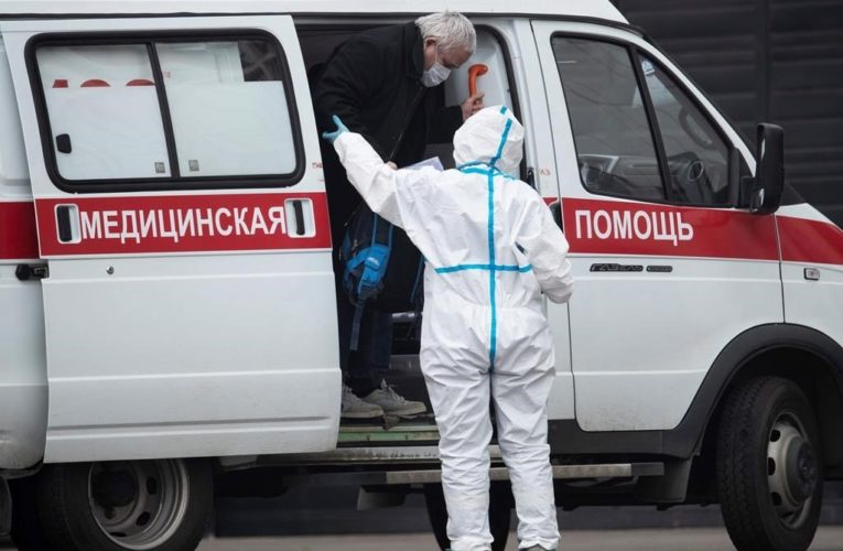Russia sees record spike in coronavirus cases with nearly 10,000 in one day