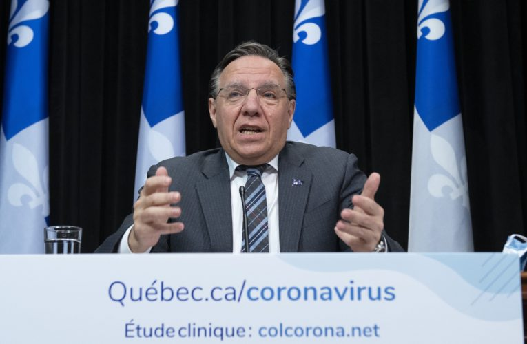 'The virus is still there,' Legault says as Quebec sees lowest coronavirus case increase since April