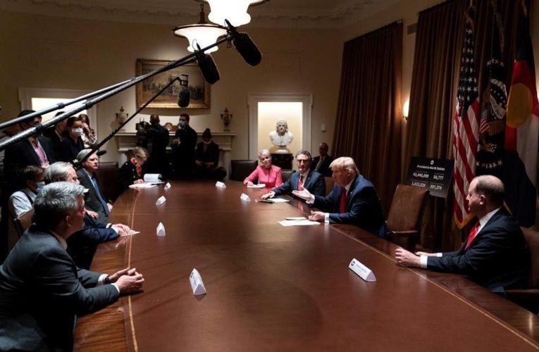 Trump to name former pharmaceutical exec to lead U.S. coronavirus vaccine push