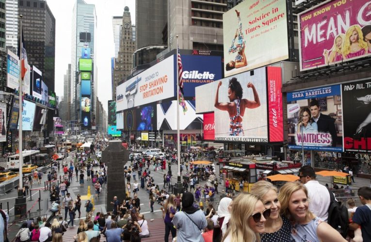 'All eyes' on New York City as it begins to reopen amid pandemic, protests