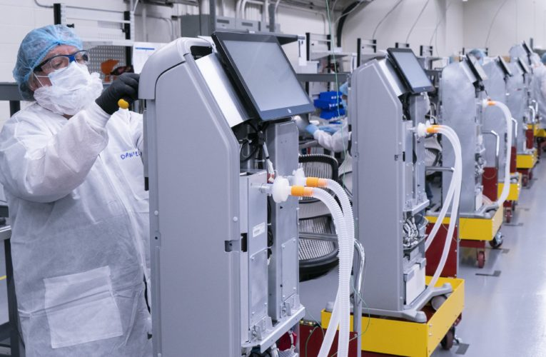 CAE ventilator receives Health Canada certification, starts shipping