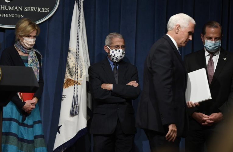 Coronavirus: U.S. federal government's mixed messages on masks creates confusion