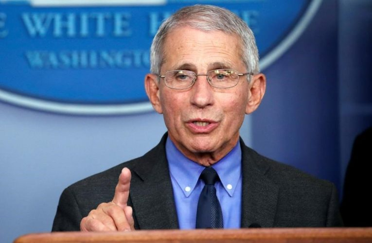 Fauci warns U.S. states with coronavirus surges should 'slow down a little' in reopening