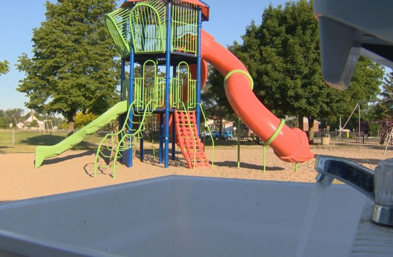 Outdoor sinks installed in Pincourt, Que., parks and playgrounds