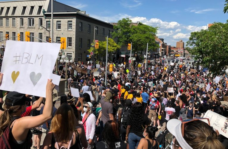 Trudeau joins anti-racism march in Ottawa