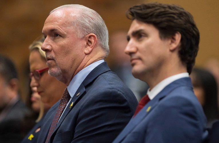 B.C. Premier John Horgan formally asking federal government to decriminalize illegal drugs