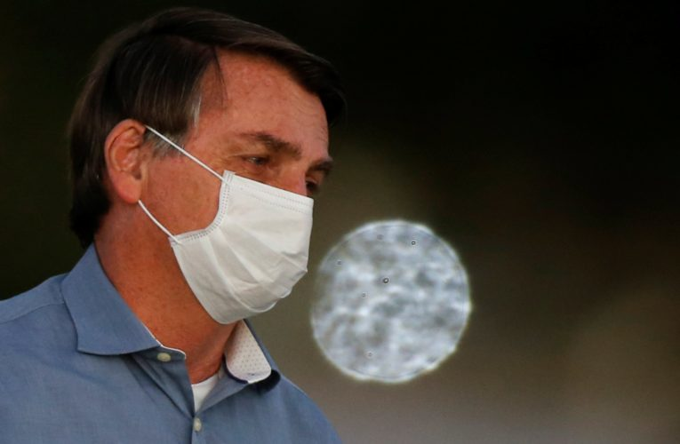 Brazil's President Jair Bolsonaro says he tested negative for coronavirus