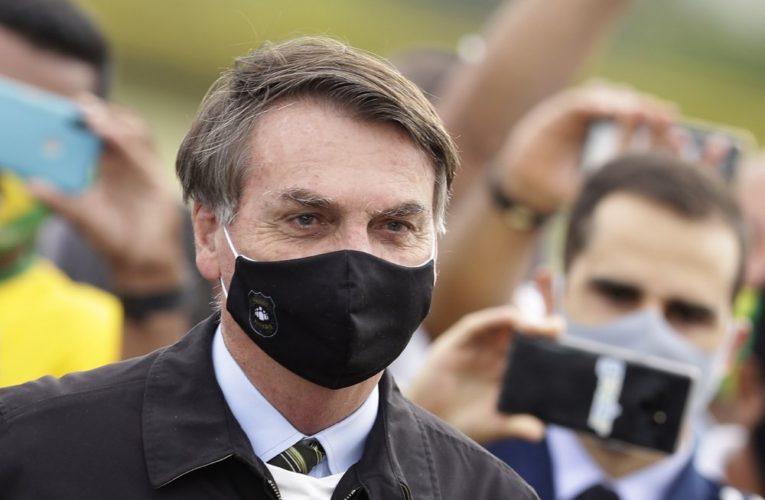 Brazil's President Jair Bolsonaro tests positive for coronavirus a 2nd time