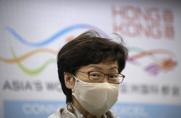 Hong Kong leader warns city on brink of 'large-scale' coronavirus outbreak