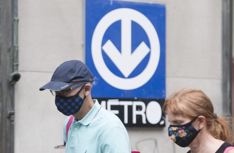 Masks mandatory on all Quebec public transit beginning Monday