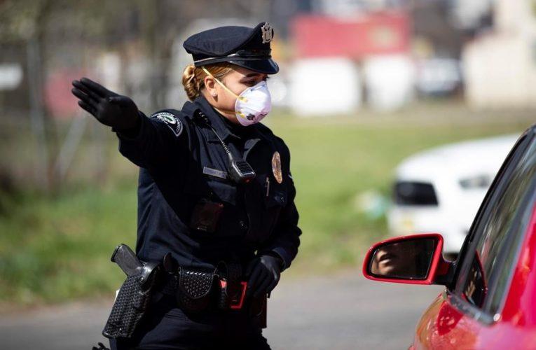 Some U.S. police resisting mandatory mask mandates amid coronavirus pandemic