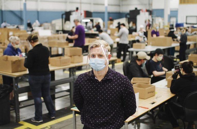 Waterloo company donates 750,000 face shields to teachers across Canada