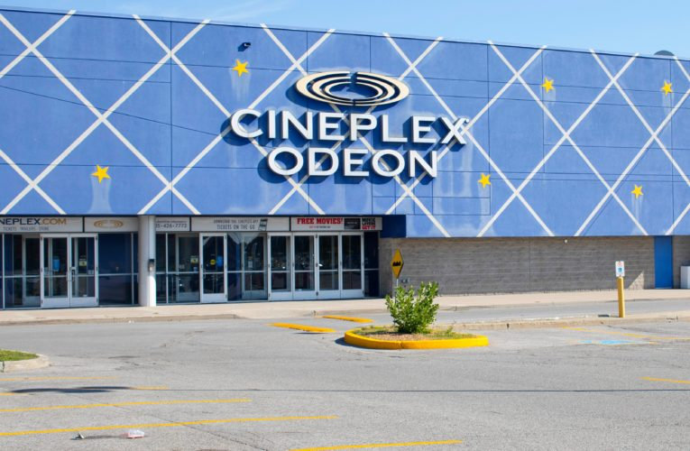 Coronavirus: Cineplex loses $98.9M in Q2 after movie theatres closed during pandemic