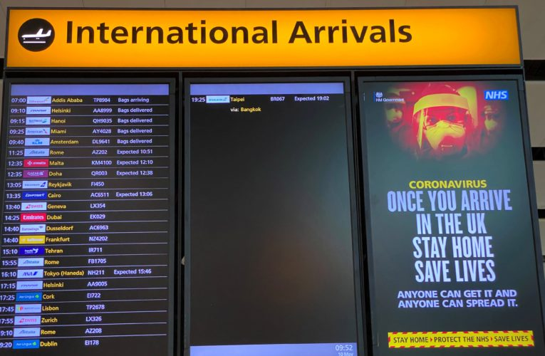 European vacationers face threats of sudden and ever-changing COVID-19 travel rules