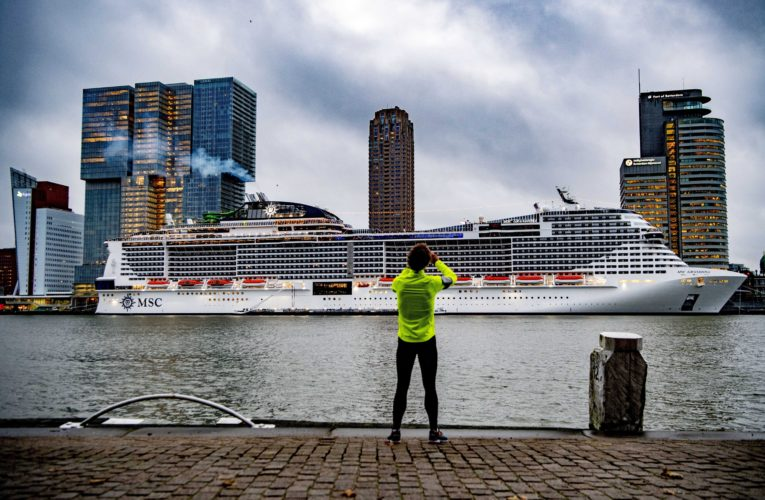 First Mediterranean cruise since Italy's lockdown sets sail from Genoa