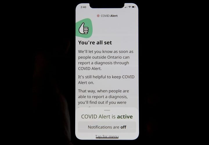 Canadian military asked to use government's COVID Alert app