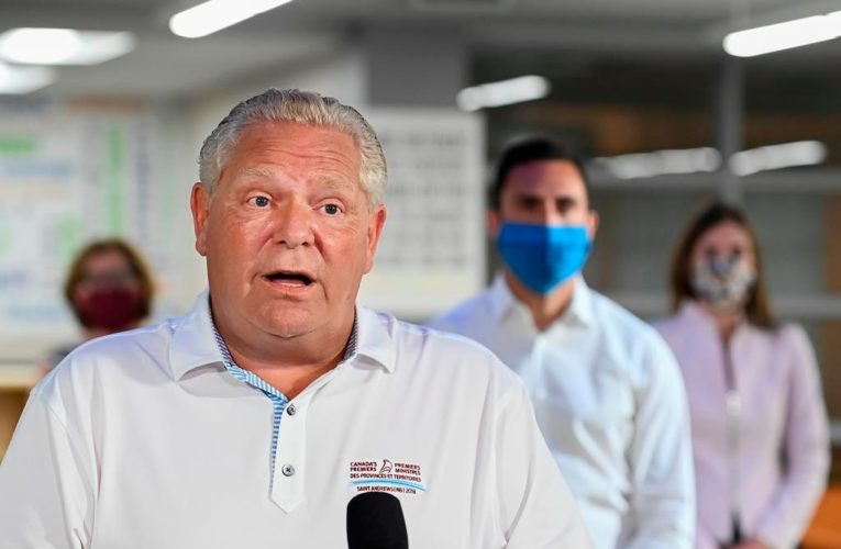 Ford accuses feds of failing to enforce quarantine orders in Ontario