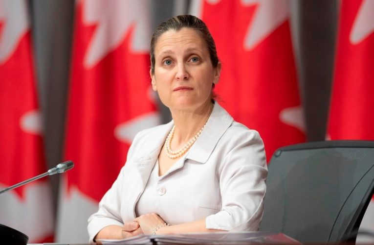 Freeland says she's confident coronavirus defeat 'is not years away'