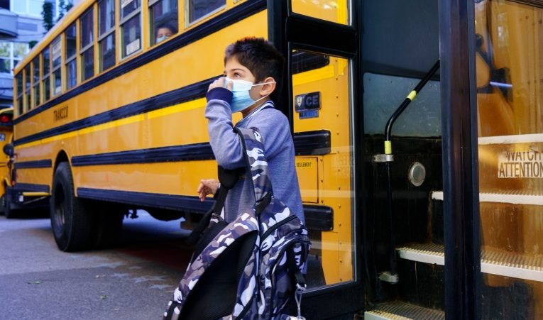 How wearing a mask at school can impact a child's development