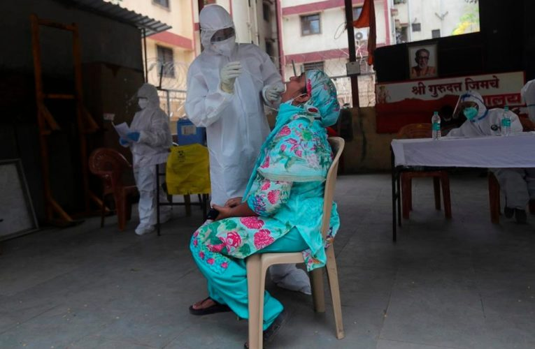 India surpasses 5 million coronavirus cases, closing in on U.S. record total