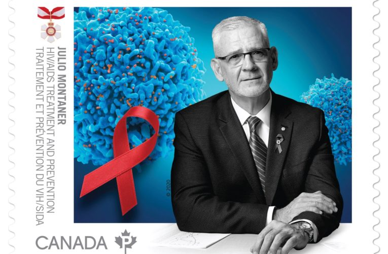 Pioneering B.C. HIV/AIDS researcher honoured on new Canada Post stamp