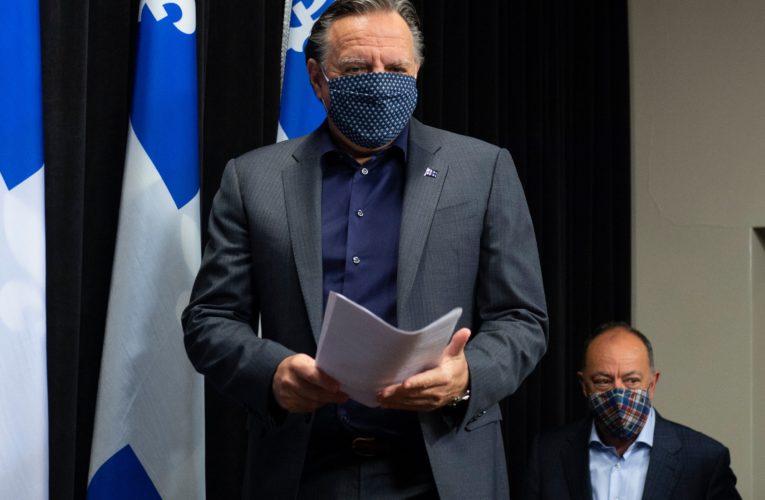 Quebec raises coronavirus alert level for Montreal, other regions as cases jump