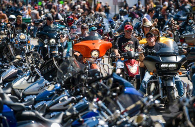 Sturgis biker rally with Smash Mouth was 'superspreading event,' report says